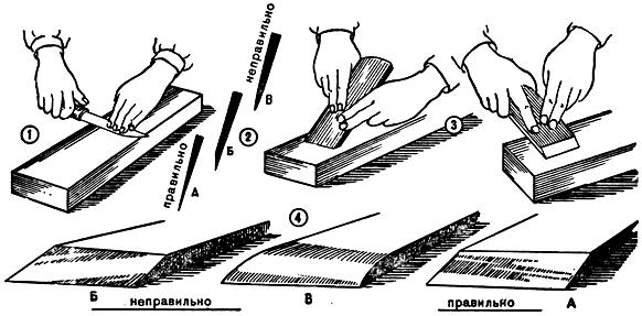 Как правильно точить ножи бруском пошаговое фото