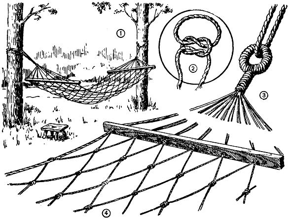 Плетение гамака: