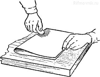 Приемы склеивания бумаги и картона макулатурный проезд сдача макулатуры