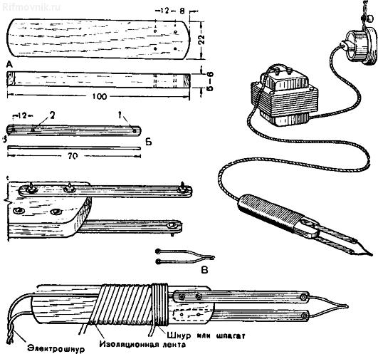 Рис. 1. Электровыжигатель